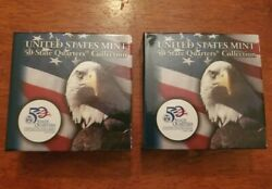 Maryland D/p United States Mint 50 State Quarter Collection 10 Rolls + Display
