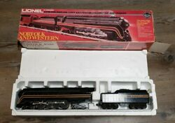 Lionel Norfolk And Western 4-8-4 J-class Steam Locomotive And Tender O-gauge Train