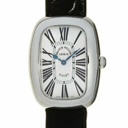 Frank Muller Gale Ladies 3002lqz Used Watch Ss Silver Guille Shereman Character