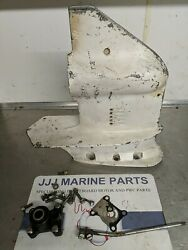 1977 Omc Johnson Evinrude 15 9.9 Hp Outboard Lower Unit Empty Gearcase 322200