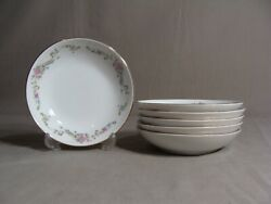 6 Crescent China By Ranmaru Fruit Bowls In The Limoge Pattern Japan