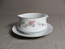 1 Crescent China By Ranmaru Gravy Dish In The Limoge Pattern Japan