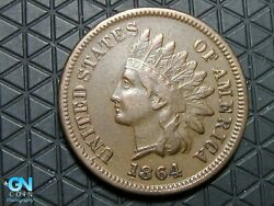 1864 L Indian Head Cent Penny -- Make Us An Offer K6681