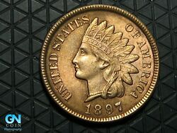 1897 Indian Head Cent Penny -- Make Us An Offer K6658