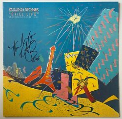 Charlie Watts Hand Signed Still Life Vinyl The Rolling Stones Music Autograph