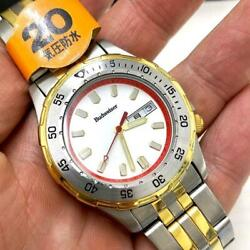 Budweiser Used Watch Men's Date Battery Replaced