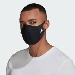 Adidas Molded Face Cover Made For Sport Hf7048 Black