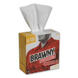 Brawny Industrial 29322 Heavyweight Hef Disposable Shop Towels 9x12.5 White