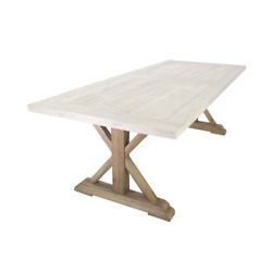 Atlas Commercial Products Rft35-4096-xlegs X Legs For Reclaimed Wood Farm Table