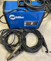 Miller Maxstar 200 Stick And Tig Welder With Cables