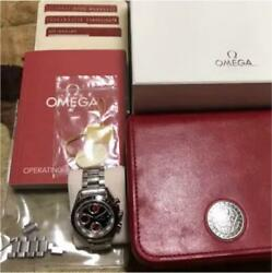 Omega Speedmaster 3210.52 Menand039s Watch W/box Used Excellent