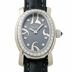 Waltham Watch Quartz Excellent Condition Ladies Oval Face Used From Japan