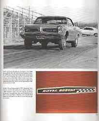 11 Page Article Royal Pontiac The Performance Dealer - Must See - Bobcat