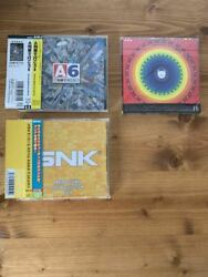 Set Of 3 Game Music Cd Take The A Train 6 Snk Arcade Sound Vol.4 Lsd Revamped