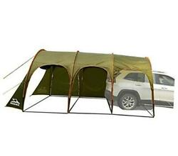 Family Camping Tunnel Tent Top Canopy Cover For Car Trailer Bbq Waterproof
