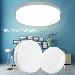 48W Bright Round LED Ceiling Down Light Panel Wall Bathroom Kitchen Office Lamp