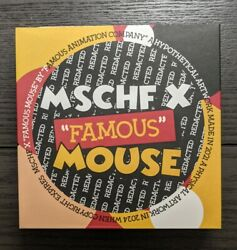 Mschf X Famous Mouse Collectable Coin Disney Mickey 1/1000