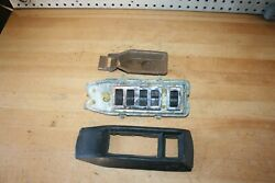 1969 Mercedes Benz W108 280se Early Electric Master Window Switch