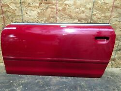 2006 Audi A4 Cabrio Front Left Driver Side Door Shell Cover Panel Red Oem+
