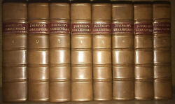 Leather Set Works Of Shakespeare1765 First Editionsamuel Johnson Rare Gift