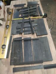 Black Ebony Scraps Very Nice Pieces. 13 Pound's For Inlay/wood Projects/art. 41