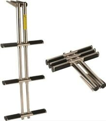 Garelick 1962601 Stainless Steel Telescoping 3 Step Dive Ladder