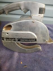 Vintage Porter Cable Guild Tools Model A-6 Circular Saw With Case