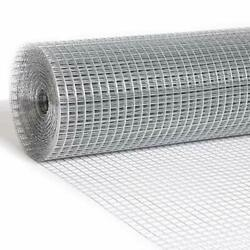 Hardware Cloth 36and039and039x100and039 1/2 Inch 19 Gauge Galvanized After Welding Wire