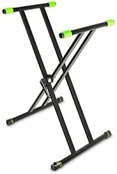 Gravity X-type Key Board Stand Keyboard Stand X-form Double Black Gksx2