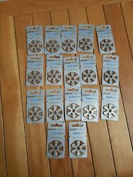 Power One P312 Hearing Aid Battery 17 Packs Of 6 Each 102 Pieces Exp 08/24