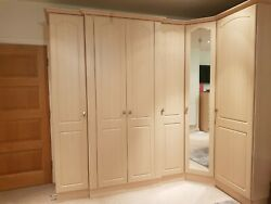Full Range Of Fitted Quality Bedroom Furniture With Free-standing Piecesreduced