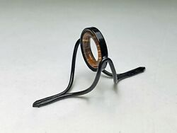 Black Frame Naturalbrown/white Agate Stripping Guide For You Bamboo Rod 8mm-12mm