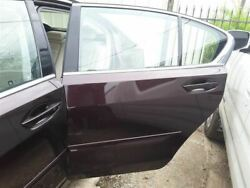 Driver Left Rear Side Door Fwd Without Sunshade Fits 14-17 Rlx 254381
