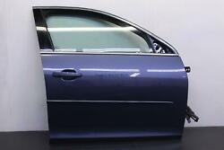 Chevy Malibu 13 14 15 16 Front Passenger Door Assembly Opt B83 Oem Blue Bc
