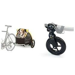Burley Tail Wagon With 1-wheel Stroller Kit