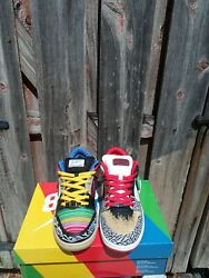 Nike Sb Dunk Low What The P-rod Size 10 Paul Rodriguez