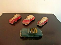 Vintage Sun Rubber And Arcor Convertible Original Antique Toy Car Lot Read The Ad