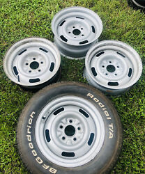 1969 Camaro Z/28 Copo Yh Coded Original Gm Rally Wheels Dated Early 69