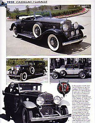 1931 Cadillac Lasalle Article - Must See