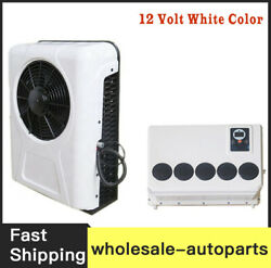 New 100 Electric A/c Unit Fits All Trucks Truck Cab Air Conditioner 12v White A