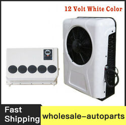 New 100 Electric A/c Unit Fits All Trucks Truck Cab Air Conditioner 12v White B