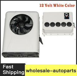 New 100 Electric A/c Unit Fits All Trucks Truck Cab Air Conditioner 12v White C