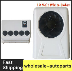 New 100 Electric A/c Unit Fits All Trucks Truck Cab Air Conditioner 12v White D