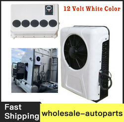 New 100 Electric A/c Unit Fits All Trucks Truck Cab Air Conditioner 12v White F
