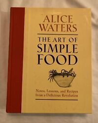 The Art Of Simple Food By Alice Waters Signed Hardcover