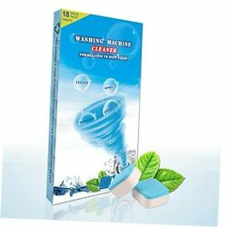 Washing Machine Cleaner 18 TabletsEarth Friendly Deep Cleaning for Front