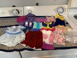 American Girl Doll Clothes Lot 6 …used Clothing Lot Myag, Kanani, Marie Grace