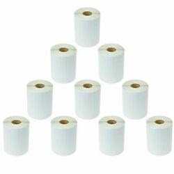 50 Rolls 250 4x6 Direct Shipping Labels For Zebra Tlp-2622 Lp-2442 250 P/roll