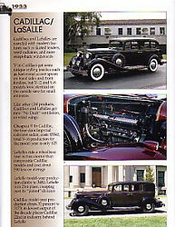 1933 Cadillac / Lasalle Article - Must See - V16