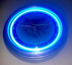2004 Hd Harley Davidson Motorcycle Neon Wall Clock Roadhouse Collection